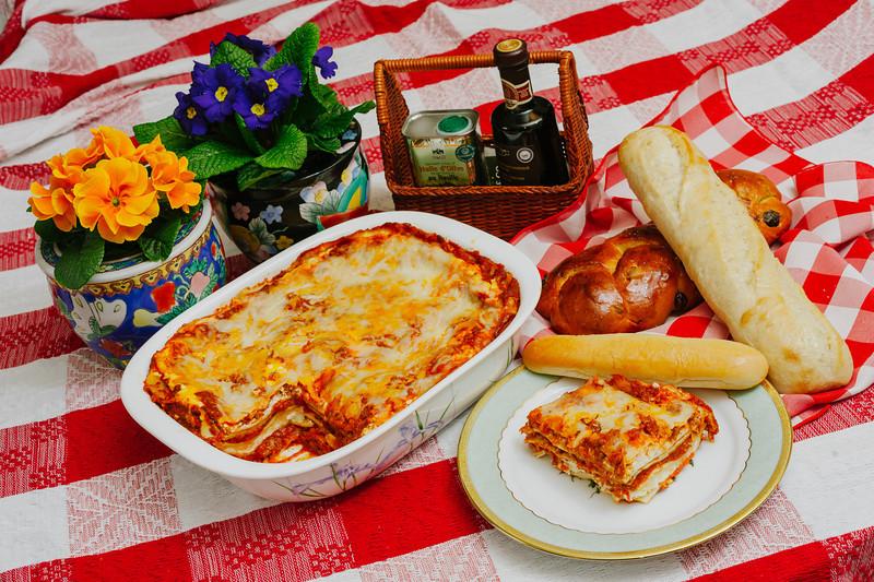 July - Lasagne