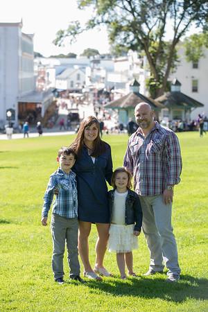 Mackinac Island family photography
