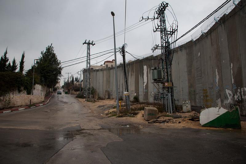 Separation Barrier in Jerusalem.