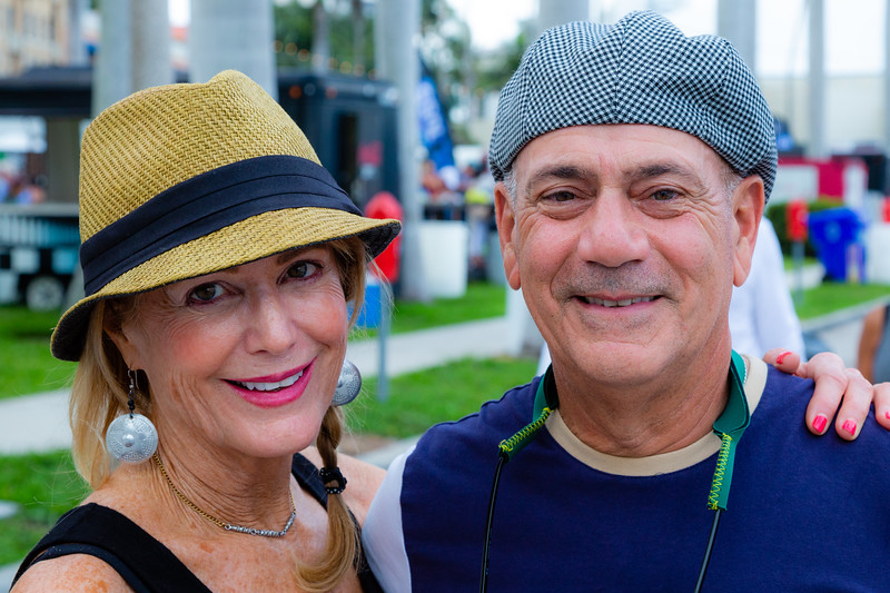The faces of Sunfest 2018, downtown West Palm Beach on the waterfront, Thursday, May 3, 2018. (Joseph Forzano / The Palm Beach Post)