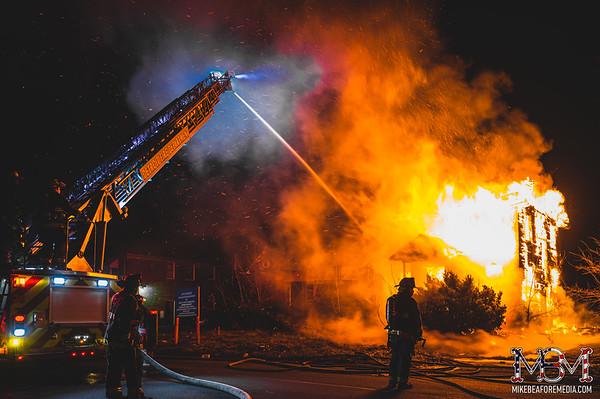Detroit MI, House Fire 1-15-2021