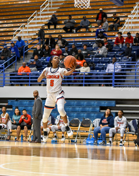Lincoln Basketball   Road to CIAA 1/10/19
