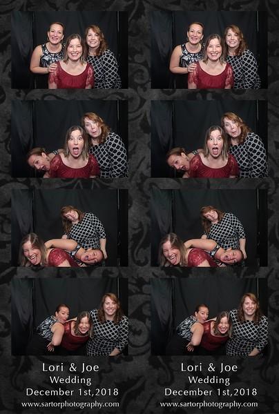Lori and Joe's wedding