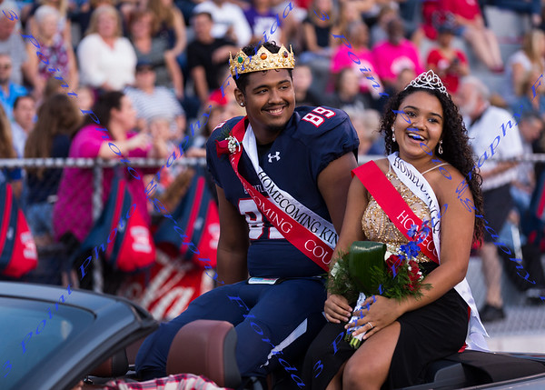 LBHS Homecoming Court - Oct 28, 2016