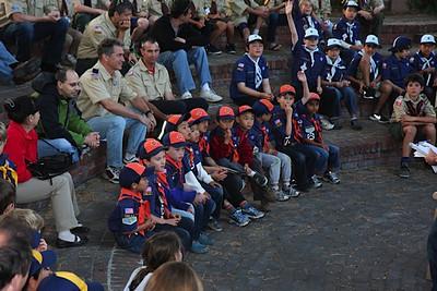 Cub Scout Campfire 2012