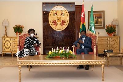 Visite au Président SEM Faure Gnassingbé - Lomé