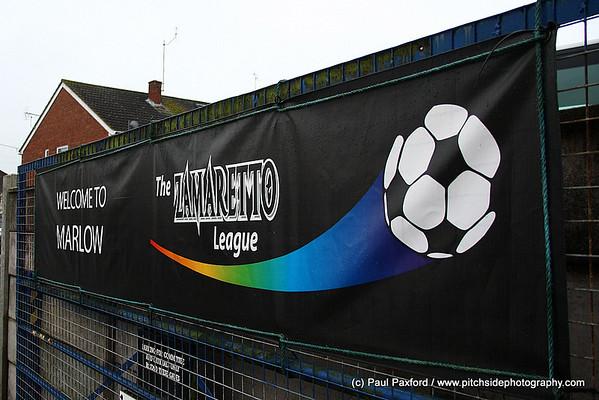 Marlow 1 Hitchin Town 1 Zamaretto League Div 1 Central  19/2/11