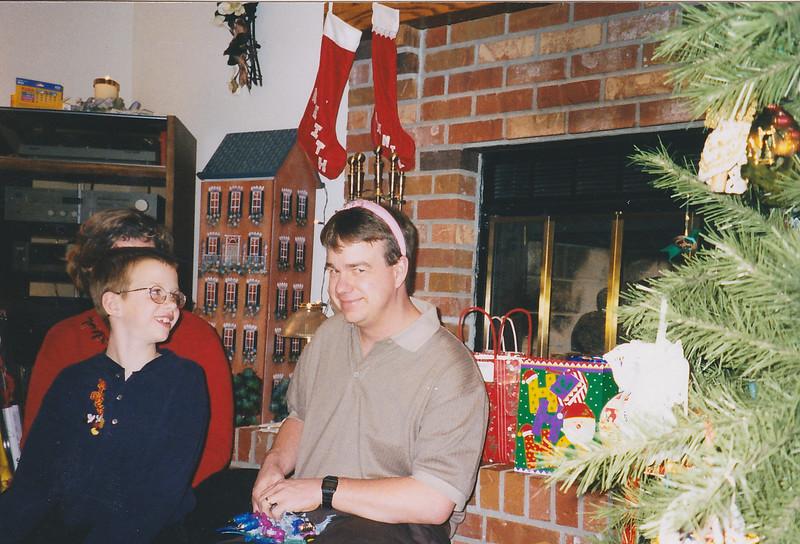 Matt and Dan, Christmas 1998