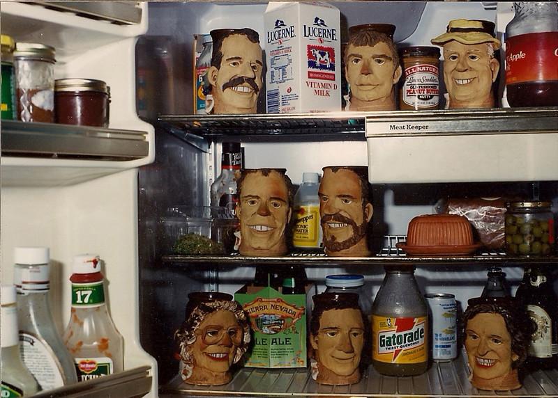 Mugs of the family plus GG