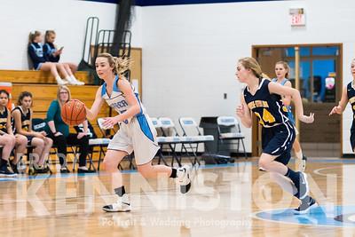 1-22-18 Garber Girls JV & Varsity Basketball