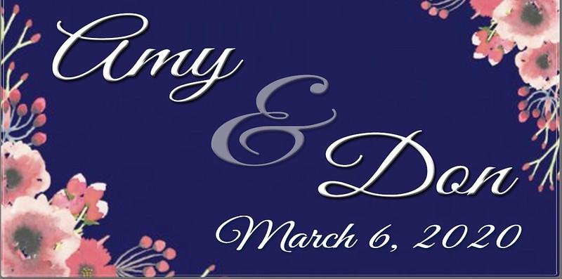 DON & AMY  WEDDING