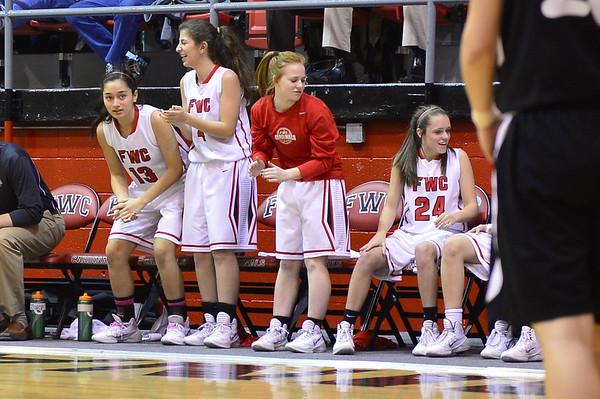 FWC Girls Varsity Basketball 2/4/2014