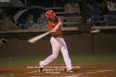 2015 CHS  Varsity Baseball vs Beauregard