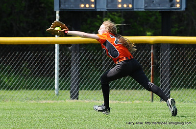 Jonesville vs Reading JV Softball