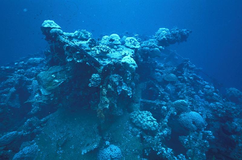 Fujikawa Maru, Truk Lagoon, 1983