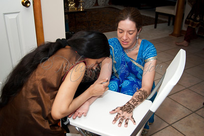 Lindsay's Mehendi Party