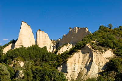 Rock formation near Melnik,  The Pirin Mountains, Bulgaria