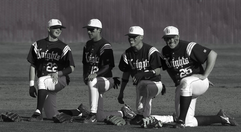Bullard Baseball QuartetBW.jpg