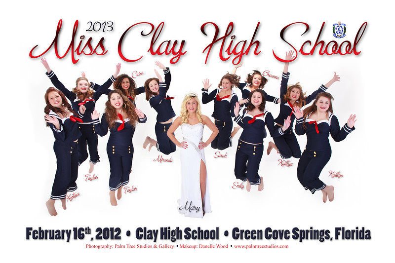 Miss Clay High School Pageant 2013