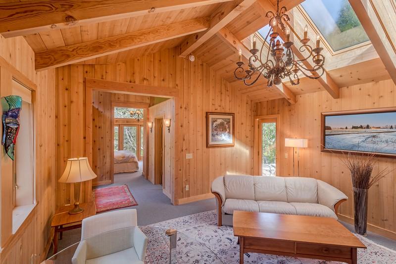 Living Room in guest house looking towards guest Bedroom