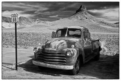 Route 66 - Black & White