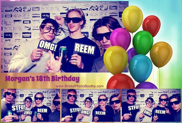 Morgan's 18th Birthday
