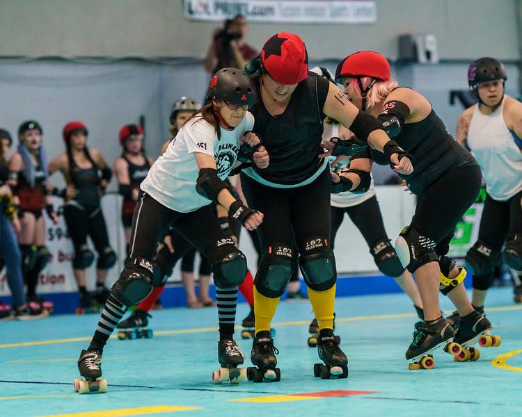 1/26/2019 AZRD Rumbleweeds vs TRD Bandoleras ©Keith Bielat