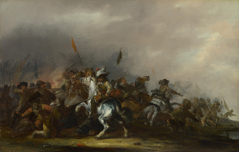 Cavalry attacked by Infantry
