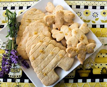 Honey-Thyme Shortbread