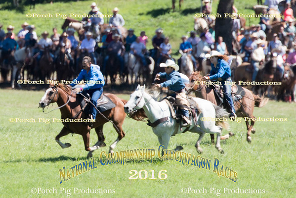 Friday Snowy River Race  2016 National Championship Chuckwagon Races