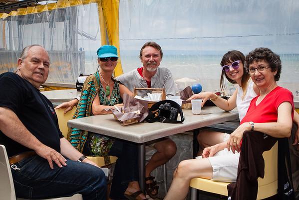 Robertsons Visit Woodland Beach