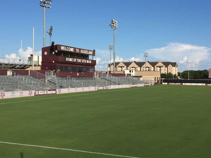 Texas A & M Soccer Camp