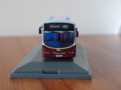 Corgi OOC OM46014A Lothian Buses Volvo B7RLE Eclipse route 49 to Rosewell 'Mary Queen of Scots'