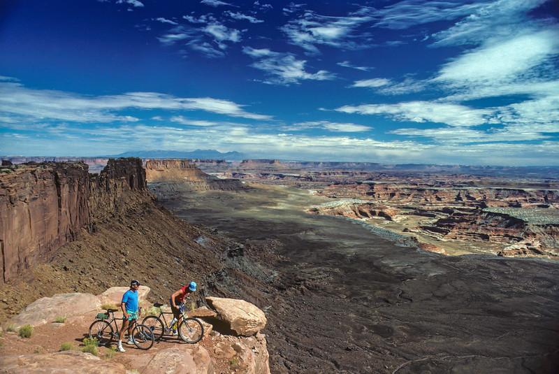 Maze District Mountain Bikers