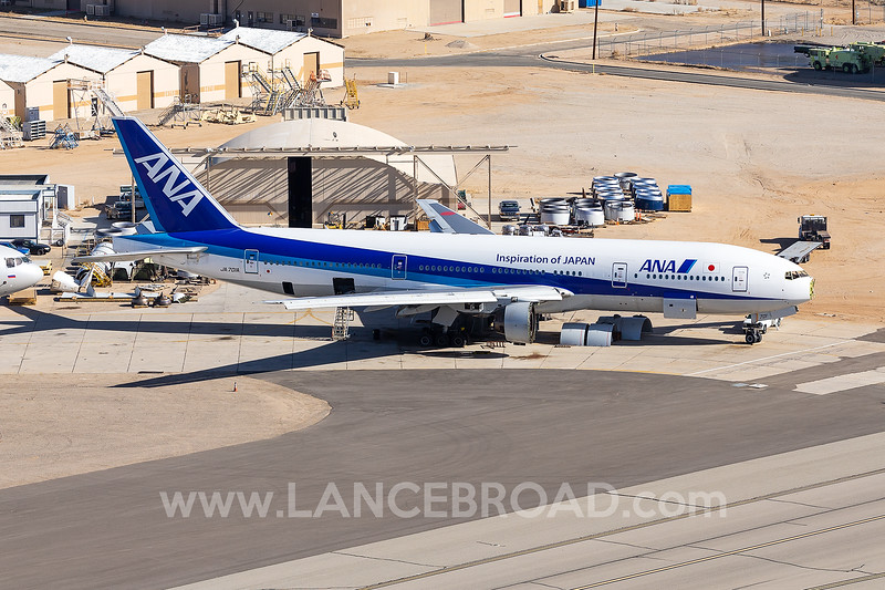 All Nippon Airways 777-200 - JA701A - VCV