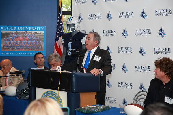 Keiser Press Conference  to Announce Football 10-11-16