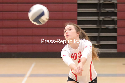 Volleyball–Saranac vs. Northeastern Clinton