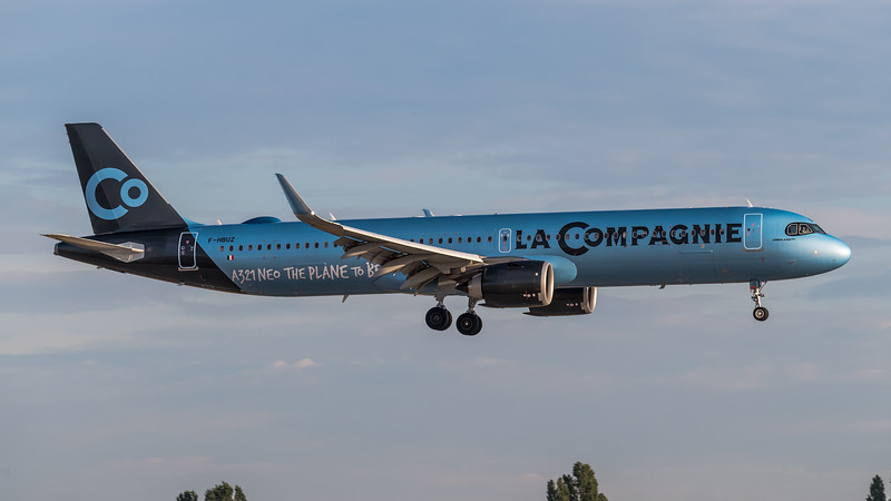 La Compagnie / Airbus A321-251NX / F-HBUZ