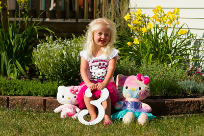 Mackenna Third Birthday Portrait