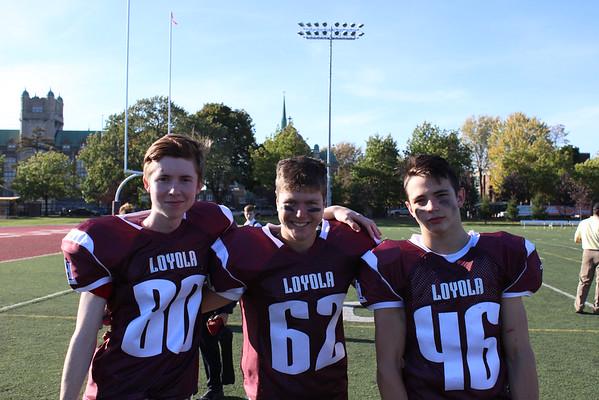 Juvenile Football - October 3nd, 2014