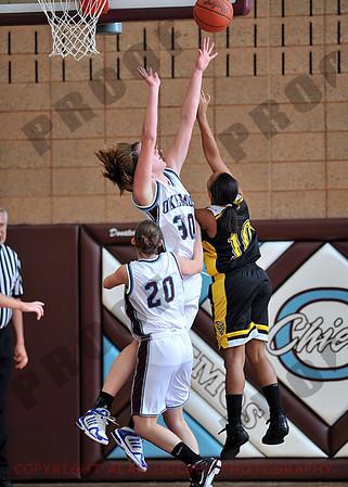 Girls Varsity Basketball - Waverly at Okemos - Jan 12