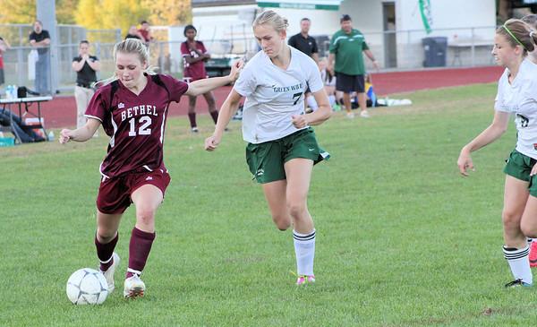 Varsity Girls Soccer vs New Milford - 10/10/2011