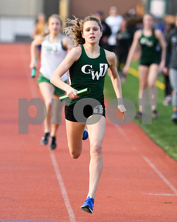 Glenbard West girls track