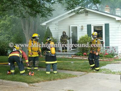 7/8/05 - Mason house fire, 127 Monroe St