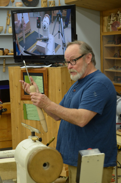 Woodturning With Alan Lacer [Apr '13]