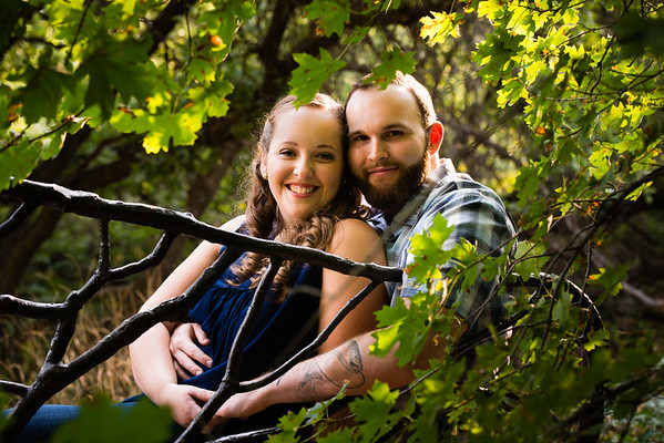 Red Butte Garden Engagement
