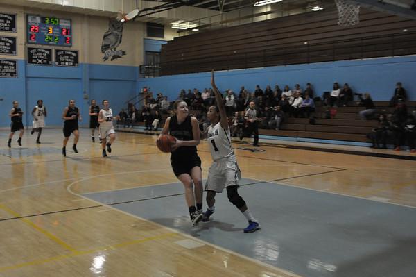 Girls BB vs WHS Feb 2014