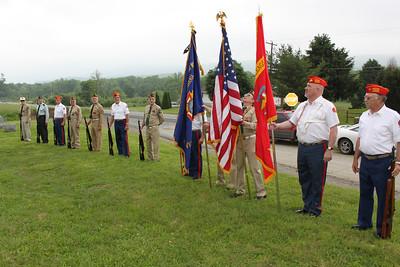 Roaming Memorial Services Detail, MCL 626, VFW 5069, West Penn (5-29-2011)