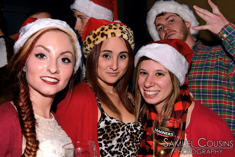 Santacon 2014 at Bull Feeney's