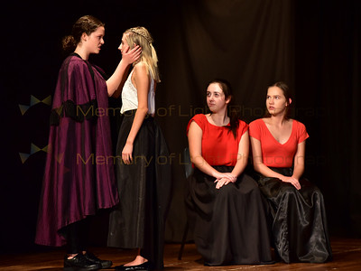 Queen Margaret College: King Lear - Act I sc i